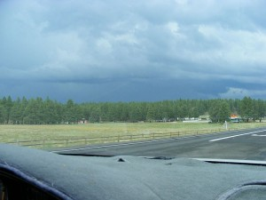 Rain Over Flagstaff